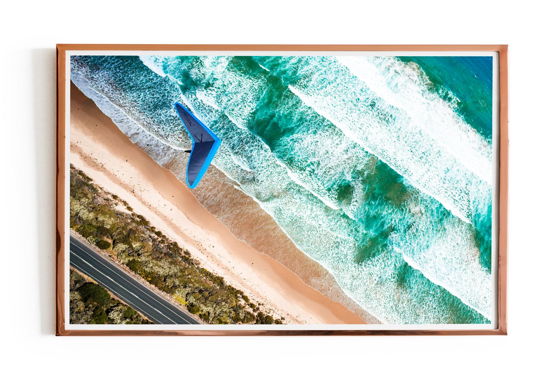 Hang Glider Malibu over ocean