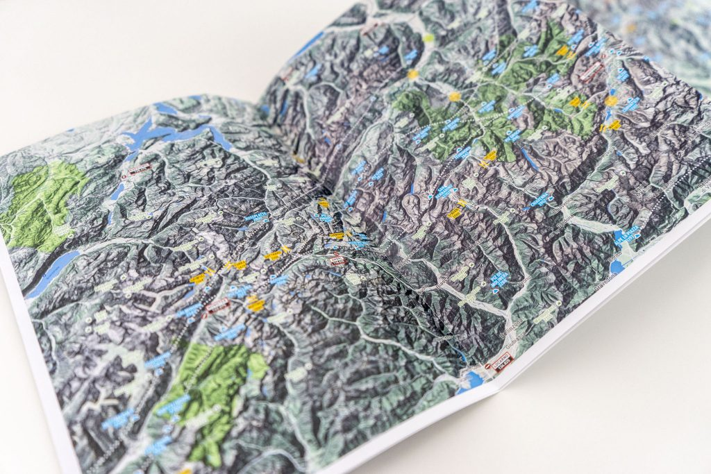 Thermal Map Eastern Alps Paragliding Hang Gliding