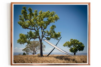 Hang Gliding Photo Poster. Manilla, Australia