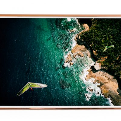 Hang Gliding Photo Poster Stanwell Park