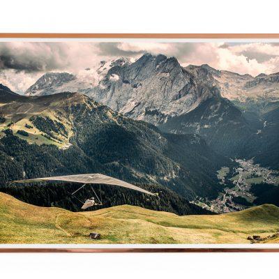 Hang Gliding Photo Poster Dolomites