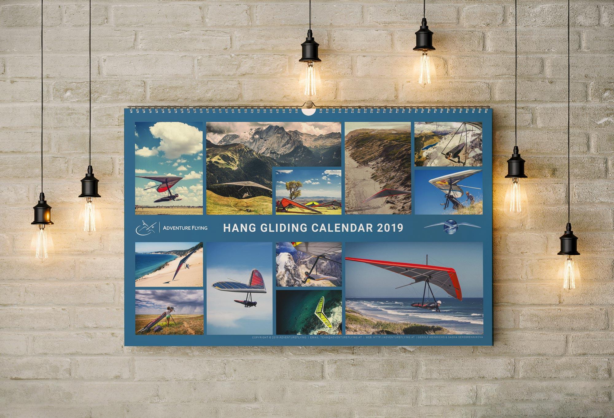 Hang Gliding Calendar