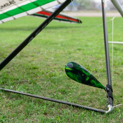 Hang Gliding Upright Mount Holder Bracket