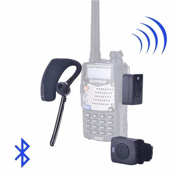 Bluetooth Headset Two Way Radio For Baofeng, Kenwood