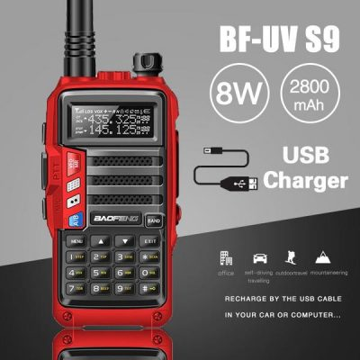2019 BaoFeng UV-S9 Powerful 8 WRadio