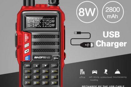 2019 BaoFeng UV-S9 Powerful 8 WRadio